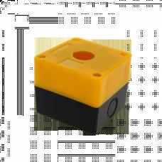 Корпус КП101 пластиковый 1 кнопка желтый EKF PROxima | cpb-101-o | EKF