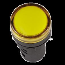 Лампа AD22DS(LED)матрица d22мм желтый 110В AC/DC | BLS10-ADDS-110-K05 | IEK