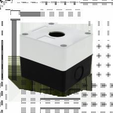 Корпус КП101 пластиковый 1 кнопка белый EKF PROxima | cpb-101-w | EKF