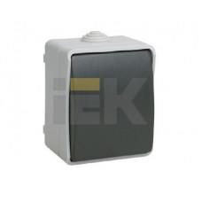 ВСк20-1-0-ФСр Выключатель кнопочный для открытой установки IP54 Форс | EVS13-K03-10-54-DC | IEK