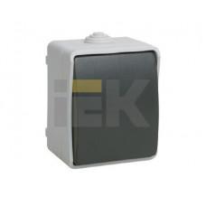 ВС20-1-0-ФСр Выключатель одноклавишный для открытой установки IP54 Форс | EVS10-K03-10-54-DC | IEK
