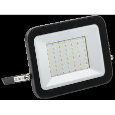 Прожектор светодиодный СДО 06-50 50Вт 4000К IP65 черный | LPDO601-50-40-K02 | IEK