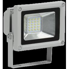 Прожектор светодиодный СДО 05-10 10Вт 6500 IP65 серый SMD | LPDO501-10-K03 | IEK
