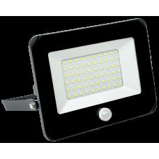 Прожектор СДО 06-30Д светодиодный черный с ДД IP54 6500 K|LPDO602-30-65-K02|IEK