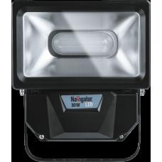 Прожектор светодиодный СДО NFL-P-30-4K-BL-IP65-LED (аналог ИО 300 Вт) 30Вт 4000К IP65   94630   Navigator