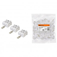 Клемма пружинная соединительная КСПз3-L+N+PE, 16 A, с заземлением под винт | SQ0510-0108 | TDM
