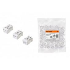 Клемма пружинная соединительная КСПн2-L+N, 16 A, с монтажной ножкой | SQ0510-0106 | TDM