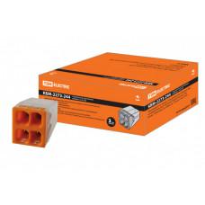 Строительно-монтажная клемма КБМ-2273-244 (2,5мм2) с пастой | SQ0517-0115 | TDM