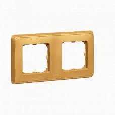 Cariva Матовое золото Рамка 2-ая   773662   Legrand