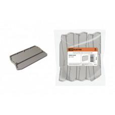 Заглушка для ЗКБ 3 вывода 1,5/2,5 мм2 серая | SQ0822-0028 | TDM