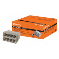 Строительно-монтажная клемма КБМ-2273-248 (2,5мм2) с пастой | SQ0517-0117 | TDM
