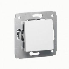Cariva Белый Выключатель 1-клавишный 16A   773600   Legrand