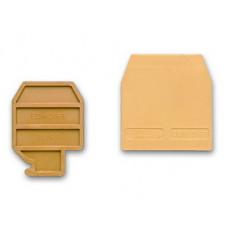 Торцевой изолятор для SCB.10. Бежевый | ZSB401 | DKC