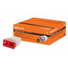 Строительно-монтажная клемма КБМ-2273-232 (2,5мм2) с пастой | SQ0517-0111 | TDM