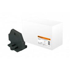 Торцевая пластина для клемм МКМ 2,5 мм2 универсальная (черная) | SQ0822-0111 | TDM
