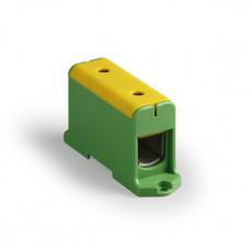 Клемма вводная силовая КВС 35-240 кв.мм. желтая/зеленая | SQ0833-0012 | TDM