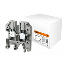Зажим наборный ЗНИ-6мм2 (JXB50А) серый   SQ0803-0003   TDM