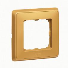 Cariva Матовое золото Рамка 1-ая   773661   Legrand