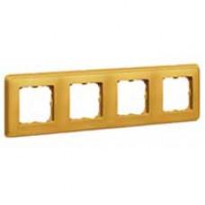 Cariva Матовое золото Рамка 5-ая   773665   Legrand