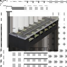 Терминал клеммный TB-4512 до 4,5 мм2 45A 12 клеммных пар EKF PROxima   tb-4512   EKF