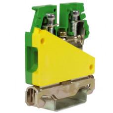 TE.10/O, зажим для заземления желт.зелен 10 кв.мм   ZTO500   DKC