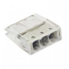 Строительно-монтажная клемма СМК 2273-243 (с пастой) 3 отверстия 0,5-2.5мм2 (100шт.) EKF PROxima   plc-smk-2273-243   EKF