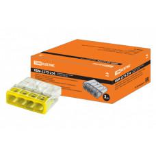 Строительно-монтажная клемма КБМ-2273-234 (2,5мм2) с пастой | SQ0517-0113 | TDM
