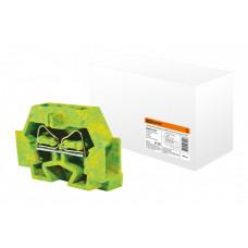 Микроклемма модульная МКМ 2,5мм2 желто-зеленая | SQ0822-0106 | TDM