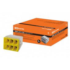 Строительно-монтажная клемма КБМ-2273-246 (2,5мм2) с пастой | SQ0517-0116 | TDM