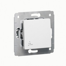 Cariva Белый Выключатель 1-клавишный IP44   773609   Legrand
