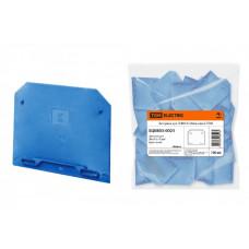 Заглушка для ЗНИ4-6-10мм синяя   SQ0803-0021   TDM