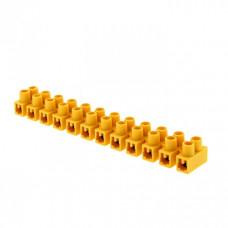 Клеммная колодка 35мм 80А полистирол желтая (уп.10шт.) EKF PROxima   plc-KK-35-80-ps-y   EKF