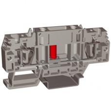 HSCB.4GR, тестовый с разъединителем, серый , 4 кв.мм   ZHB100GR   DKC