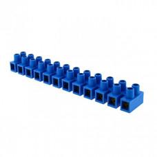 Клеммная колодка 6мм 5А полистирол синяя (уп.10шт.) EKF PROxima   plc-KK-6-5-ps-s   EKF