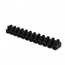 Клеммная колодка 12мм 16А полистирол черная (уп.10шт.) EKF PROxima   plc-KK-12-16-ps-b   EKF