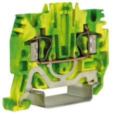 HTE.2, зажим для заземления, 2,5 кв.мм желто-зеленый   ZHT500-RET   DKC