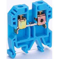 Зажим наборный 50А 6мм2 ЗН-101 синий | 32403DEK | DEKraft