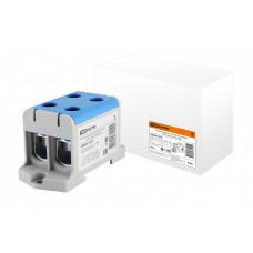 Клемма вводная силовая КВС 4 ввода 16-95 кв.мм. синяя | SQ0833-0105 | TDM