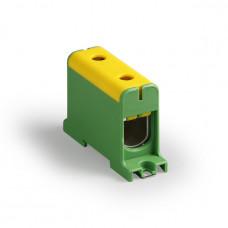 Клемма вводная силовая КВС 35-150 кв.мм. желтая/зеленая | SQ0833-0009 | TDM