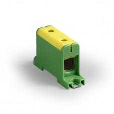 Клемма вводная силовая КВС 16-95 кв.мм. желтая/зеленая | SQ0833-0006 | TDM
