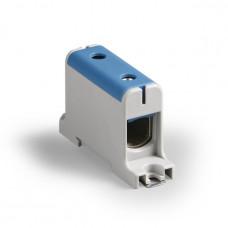 Клемма вводная силовая КВС 16-95 кв.мм. синяя | SQ0833-0005 | TDM