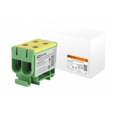 Клемма вводная силовая КВС 4 ввода 6-50 кв.мм. желтая/зеленая | SQ0833-0103 | TDM