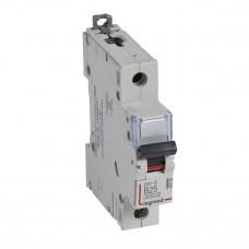 Выключатель автоматический однополюсный DX3-E 6000 25А B 6кА   407209   Legrand