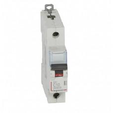 Выключатель автоматический однополюсный DX3 6000 10А C 10кА | 407668 | Legrand