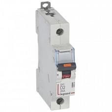 Выключатель автоматический однополюсный DX3 2А D 25кА | 409804 | Legrand