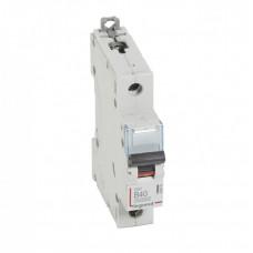 Выключатель автоматический однополюсный DX3 10000 40А B 16кА | 408876 | Legrand