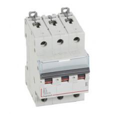 Выключатель автоматический трехполюсный DX3 6000 3А B 10кА   407556   Legrand