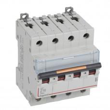 Выключатель автоматический четырехполюсный DX3 16А Z 25кА | 409935 | Legrand