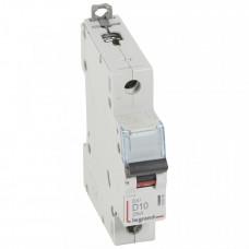Выключатель автоматический однополюсный DX3 10А D 25кА | 409806 | Legrand