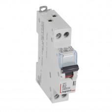 Выключатель автоматический однополюсный (1п+N) DX3 6000 2А B 10кА   407469   Legrand
